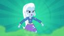Trixie agitated on blue background EG2