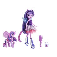 Equestria Girls Twilight Sparkle Doll and Pony Set