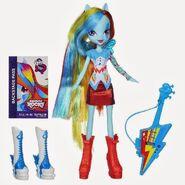 Zabawka Rainbow Rocks - Rainbow Dash z instrumentem
