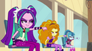 The Dazzlings give a thumbs down EG2