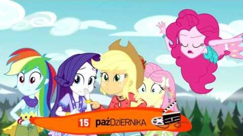 MLP EG Legenda Everfree zwiastun Teletoon