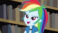 """Rainbow Dash """"you'll find out"""" EG3"""