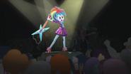 Rainbow Dash about to break her guitar EG2