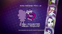 Pinkie Pie's Slumber Party - Rarity intro (Polish) EGM3