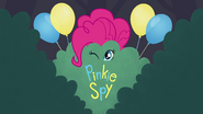 'Pinkie Spy' animated short title card EG3