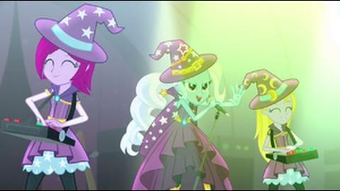 Greek Equestria Girls Rainbow Rocks Tricks Up My Sleeve HD