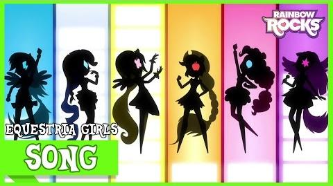 Opening Titles MLP Equestria Girls Rainbow Rocks! HD