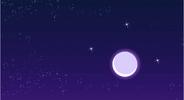 EG Księżyc na początku filmu