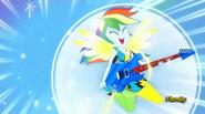 EG RR Rainbow Dash podczas przemiany.