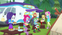 Equestria Girls have a pancake breakfast CYOE11a