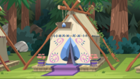Legend of Everfree background asset - stylized tent