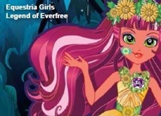 Legend of Everfree z planu rozrywkowego Hasbro