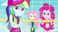 Rainbow, Fluttershy, and Pinkie still skeptical EGFF