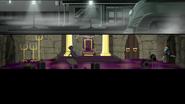 EG MF Podejrzany biegnie przez salę tronową