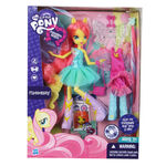Equestria Girls Fluttershy doll packaging