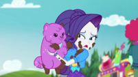 Rarity holding Princess Thunder Guts CYOE14a