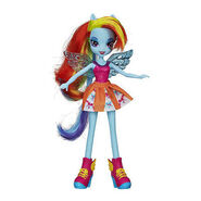 Equestria Girls Rainbow Dash Pep Rally doll