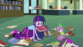 Twilight holding book in her mouth EG.png