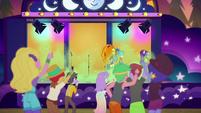 Festival teens cheer for the Dazzlings again EGSBP