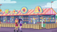 Sunset and Twilight pass Flim and Flam's booth EGROF