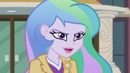 Principal Celestia being magnificently smug EG3