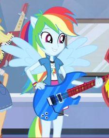 Rainbow Dash anthro ID EQG2