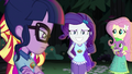 Rarity grinning nervously at Sci-Twi EG4.png
