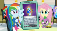 EG RR Rainbow Dash pokazuje Twilight jej przemianę