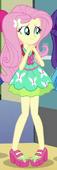 EG3 Sukienka Fluttershy na przyjęciu powitalnym dla Shadowbolts