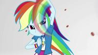 Rainbow Dash shielding herself with super-speed EGS3