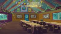 Legend of Everfree background asset - Camp Everfree activity room