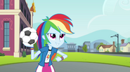 "Rainbow Dash ""totally whooped its sorry butt"" EG2"