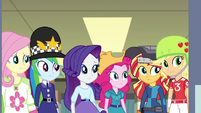 The Equestria Girls looking puzzled EG3