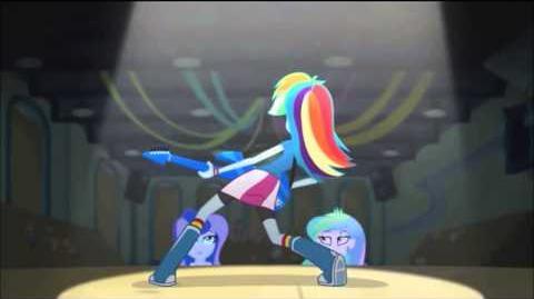 Arabic Equestria Girls Rainbow Rocks - Awesome As I Wanna Be HD