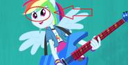 EG RR Błąd, Rainbow Dash robi zeza.