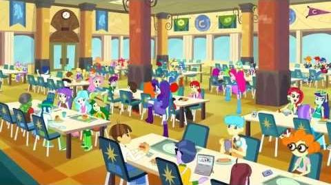 Equestria Girls (Cafeteria Song) - Latin American Spanish