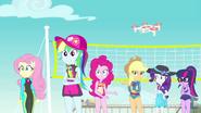 Equestria Girls hearing Trixie's voice EGFF