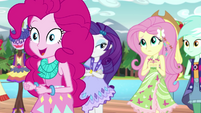 Pinkie Pie excited to go down the runway EG4