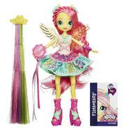 Rainbow Rocks Fluttershy Rockin' Hairstyle doll