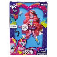 Rainbow Rocks Pinkie Pie Singing Doll packaging