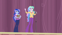 """Principal Celestia """"the games only happen every four years"""" EG3"""