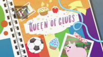 Queen of Clubs title card EGDS4