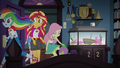 Sunset and friends enter Sci-Twi's room EG4.png
