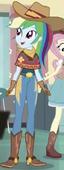 EGS1 Rainbow Dash w stroju kowbojki