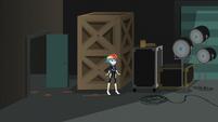 Rainbow Dash in the movie studio storage area EGS2