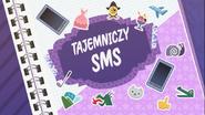 EG COYA02 02 WZ2 Karta tytułowa do odcinka ''Tajemniczy SMS'' (polska wersja dubbingowa)