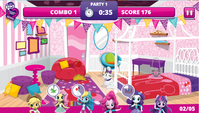MLPEG Pinkie Pie Slumber Party Game screenshot