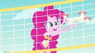 Pinkie Pie grabbing the selfie drone EGFF