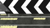Clapperboard scene transition EGS2
