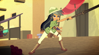 Daring Do lashes her whip at Stalwart Stallion EGS2
